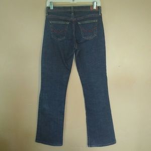 AG The Rider 27 Straight Leg Dark Wash Jeans